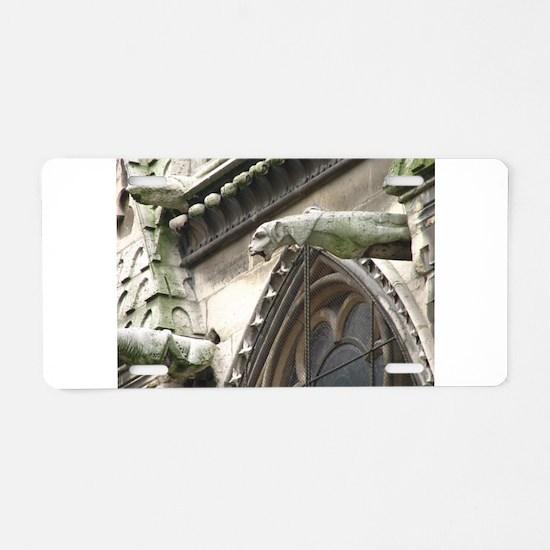 Gargoyle Aluminum License Plate