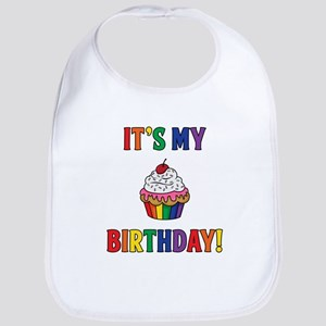 It's My Birthday! Rainbow Bib