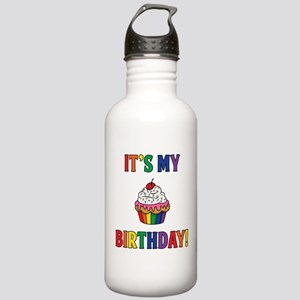 It's My Birthday! Rain Stainless Water Bottle 1.0L