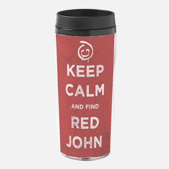 Keep Calm Red John The Mentalist 16 oz Travel Mug