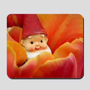 Petal Bed Gnome Mousepad
