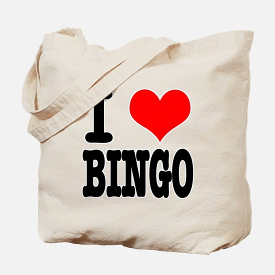 I Heart (Love) Bingo Tote Bag