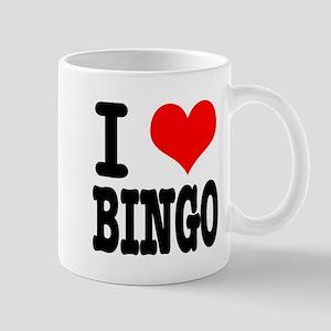 I Heart (Love) Bingo Mug