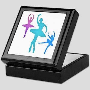 Ballerina Sillouettes Keepsake Box