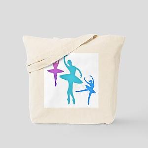 Ballerina Sillouettes Tote Bag
