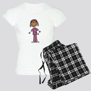 African American Female Nur Women's Light Pajamas