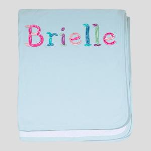 Brielle Princess Balloons baby blanket