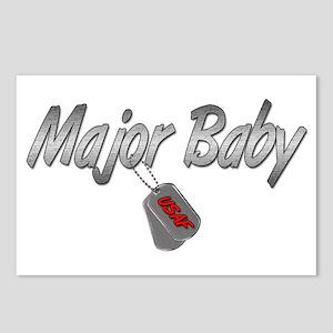 USAF Major Baby ver2 Postcards (Package of 8)