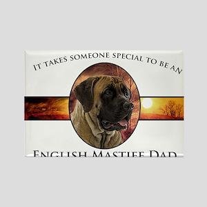Mastiff Dad Rectangle Magnet