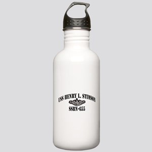 USS HENRY L. STIMSON Stainless Water Bottle 1.0L