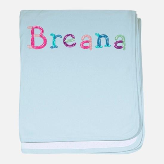 Breana Princess Balloons baby blanket