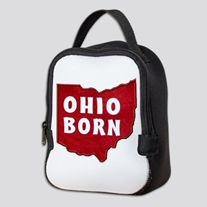 OHIO BORN Neoprene Lunch Bag
