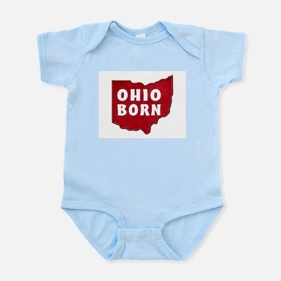 OHIO BORN Body Suit