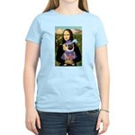 Mona & Sir Pug Women's Light T-Shirt