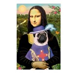 Mona & Sir Pug Postcards (Package of 8)