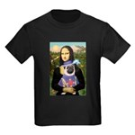 Mona & Sir Pug Kids Dark T-Shirt
