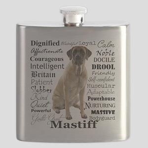 Mastiff Traits Flask