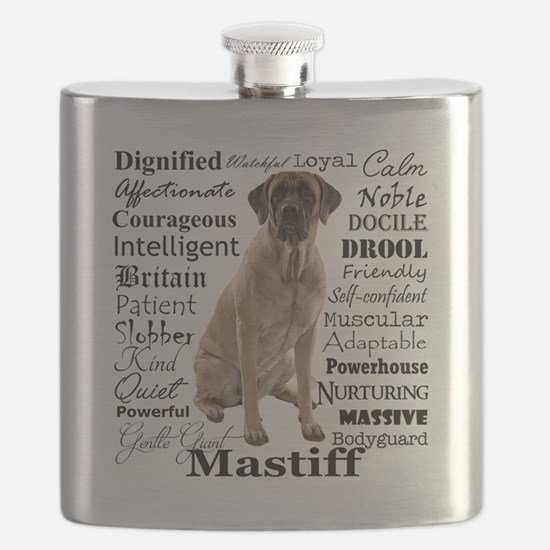 Mastiff Traits Flask