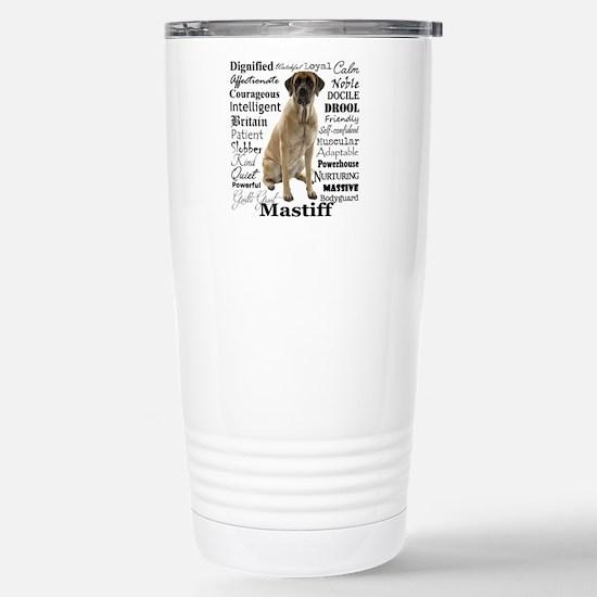 Mastiff Traits Travel Mug
