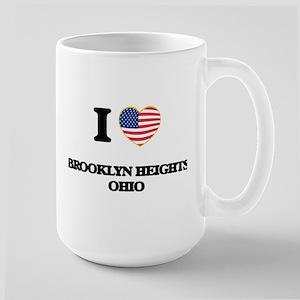 I love Brooklyn Heights Ohio Mugs