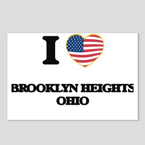 I love Brooklyn Heights O Postcards (Package of 8)