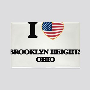 I love Brooklyn Heights Ohio Magnets