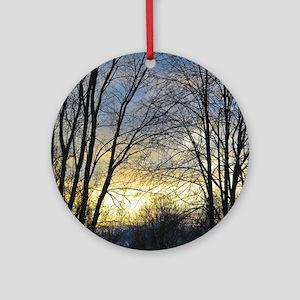 Evening Sky Ornament (Round)