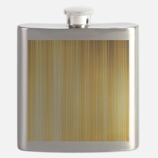 Gold and Yellows Flask