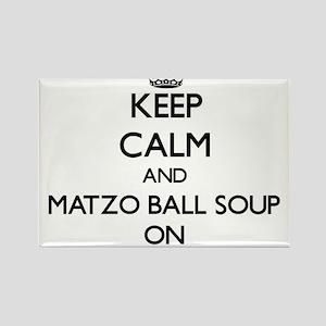 Keep Calm and Matzo Ball Soup ON Magnets