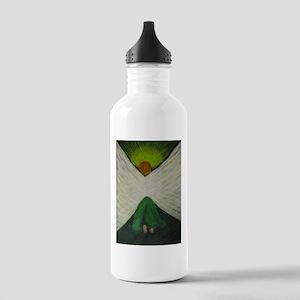 Green Angel Raphael Water Bottle