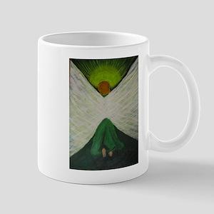 Green Angel Raphael Mugs