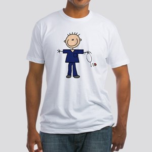 Male Nurse Fitted T-Shirt