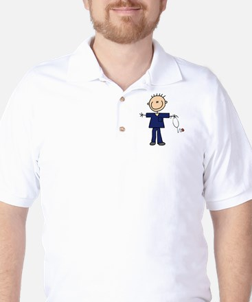 Male Nurse Golf Shirt