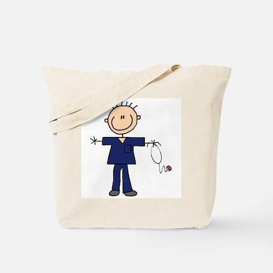 Male Nurse Tote Bag