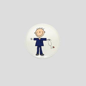 Male Nurse Mini Button
