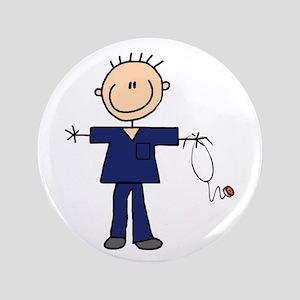 Male Nurse Button