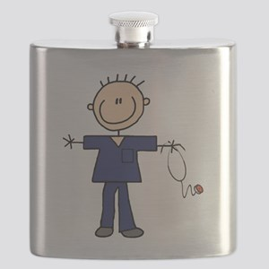 Male Nurse Flask
