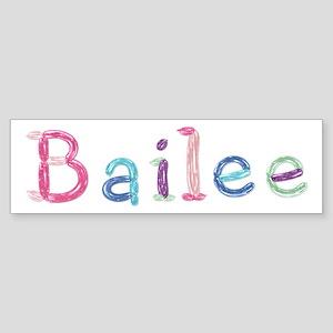 Bailee Princess Balloons Bumper Sticker