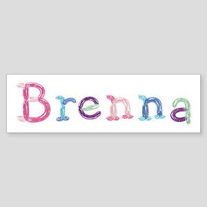 Brenna Princess Balloons Bumper Sticker