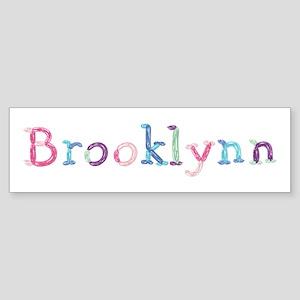Brooklynn Princess Balloons Bumper Sticker