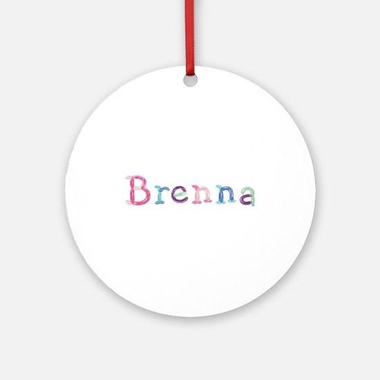 Brenna Princess Balloons Round Ornament