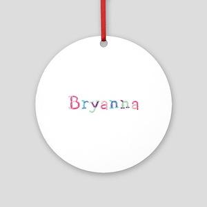 Bryanna Princess Balloons Round Ornament