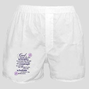Serenity Prayer Boxer Shorts