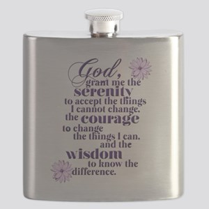 Serenity Prayer Flask