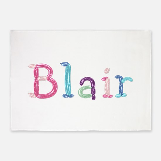 Blair Princess Balloons 5'x7' Area Rug