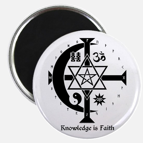 Knowledge Is Faith Magnet