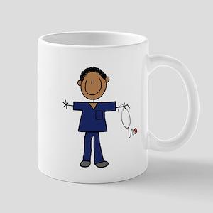 African American Male Nurse Mug