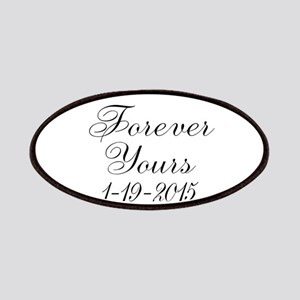 Forever Yours Personalizable Patch