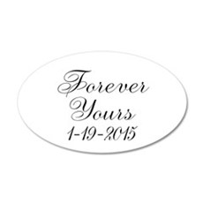 Forever Yours Personalizable Wall Decal