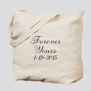 Forever Yours Personalizable Tote Bag